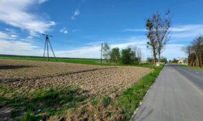 Ustawna i przestronna działka Gana gmina Praszka